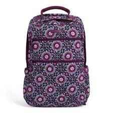 NEW Vera Bradley Tech Backpack Lilac Medallion eeda6ee2cff15