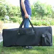 Electric 76 Key Keyboard Piano Organ Carry Bag Case Portable Black Oxford Cloth