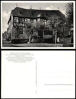 KIEDRICH i. Rheingau * Historisches Gasthaus Engel * sw-AK um 1960
