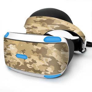 Skin Wrap for Sony Playstation PSVR Headset Brown Desert Camo camouflage