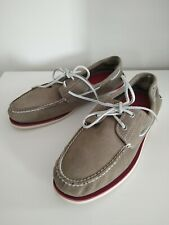 Timberland Classic 2 Eye ICON Boat Shoe Mens Leather Deck Shoes Size 15