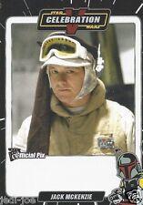 Jack McKenzie Official Pix Star Wars Autograph Trading Card Celebration V Exc