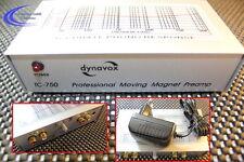 Dynavox TC-750 Profi Phono vorverstärker - Plattenspieler Verstärker - silber