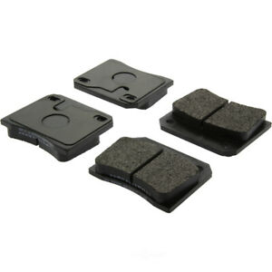 Disc Brake Pad Set-Base Rear,Front Centric 106.00090