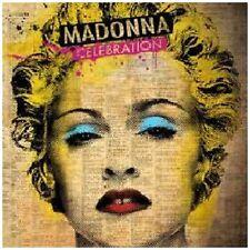 MADONNA (CELEBRATION - GREATEST HITS 2CD SET SEALED + FREE POST)