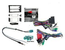 Single & Double Din Car Stereo Radio Dash & Wire Harness Install Kit Fits Audi 1
