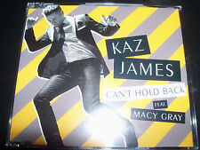 Kaz James Feat Macy Gray Can't Hold Back Australian CD Single