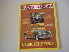 RUOTECLASSICHE 9/1991 LOTUS EUROPA TC/ALFA ROMEO 1900 SUPER/FIAT 130 BERLINA