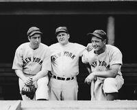1937 New York Yankees JOE DIMAGGIO JOE MCCARTHY LOU GEHRIG Glossy 8x10 Photo