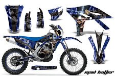 AMR RACING GRAPHIC DECAL KIT & NUMBER PLATE BACKGROUNDS YAMAHA WR450 -2012 MAD H