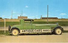 Murdo SD Pioneer Auto Museum Famous Handmade Long Green Car Postcard @1960