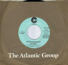 BOB MARLEY  Reggae On Broadway  2 versions  rare promo 45 from 1981