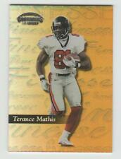TERANCE MATHIS Falcons 1999 Playoff Contenders SSD FINESSE GOLD #55 SP #10/25