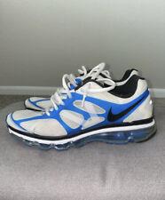 Nike Air Max 2012 White Black Blue Spark Lot