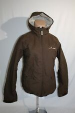 BURTON Hooded Winter Ski Snowboard Jacket ,Womens Medium, Brown