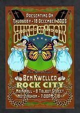 Kings Of Leon Ben Kweller 2003 Rock City Nottingham U.K. Handbill Card