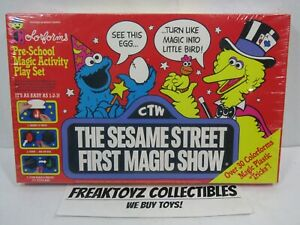 Colorforms Sesame Street First Magic Show, New & Sealed