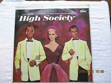 High Society LP Record Film Soundtrack Bing Crosby, Grace Kelly, Frank Sinatra
