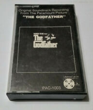 ORIGINAL SOUNDTRACK-THE GODFATHER-1972-Cassette-Paramount Records-1st!
