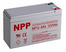 NP12-9Ah 12V 9Ah SLA Replacement Battery for APC BACK-UPS terminal F2