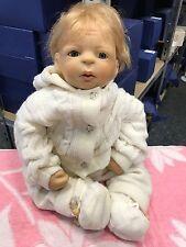 Inge Tenbusch Vinyl Puppe 50 cm. Signiert !!! Top Zustand