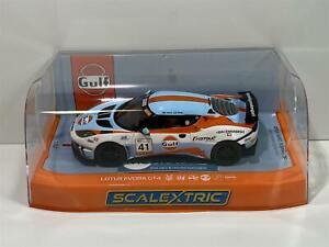 Scalextric C4183 Gulf Édition Lotus Evora Neuf Emballé