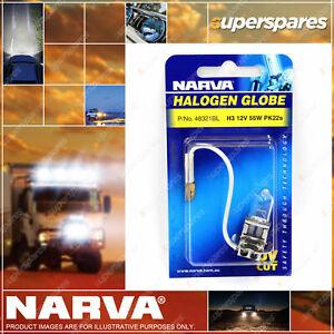 Narva H3 Halogen Globe 12 Volt 55W Pk22S 48321BL Headlamp Light v