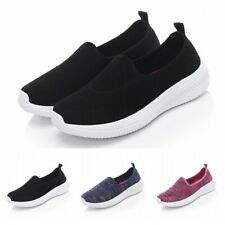 Womens Comfort Sports Walking Running Gym Trainers Fitness Breathable Sneakers B
