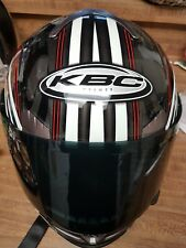 KBC Force S Dynamo Full Face Helmet - Green/Black Size XS Tinted extra small