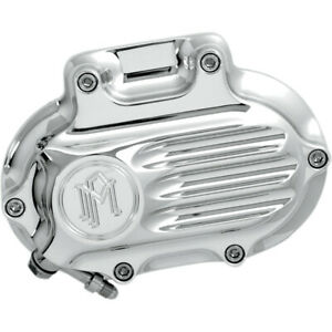 Performance Machine Transmission Cover - Chrome - Fluted | 0066-2008-CH
