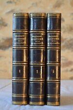Histoire du Duc de Wellington - A. Brialmont - 3 Vol. - 1858 - Guerre d'Espagne