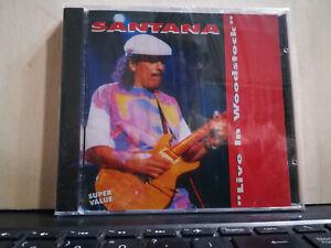 SANTANA LIVE IN WOODSTOCK - SUPER VALUE - DISCO MAGIC ON STAGE RECORDS 1995