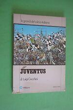 JUVE JUVENTUS DI LUIGI CECCHINI LE GRANDI DEL CALCIO ITALIANO LIBRO BOOK 1973