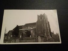 Ashdon Church postcard