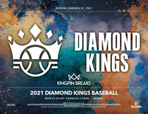 ARIZONA DIAMONDBACKS 2021 PANINI DIAMOND KINGS HOBBY 6 BOX 1/4 CASE BREAK #5