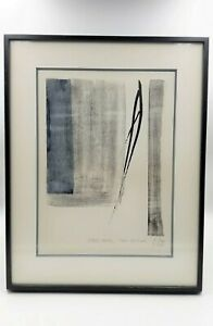 """TOKO SHINODA """"EAST MOON"""" - artist proof lithograph by foremost Japanese artist"""