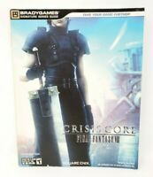 Crisis Core Final Fantasy VII Official Brady Games Strategy Game Guide