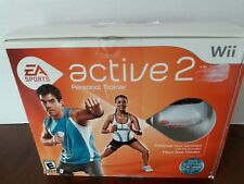 Nintendo Wii EA Sports Active 2 Personal Trainer Exercise w/ Heart Rate Monitors