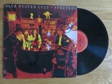 BLUE OYSTER CULT signed SPECTRES 1977 Record COA 4 Members BUCK DHARMA