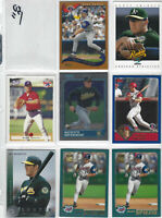 Scott Spiezio - Rookies and more -Anaheim Angels lot of 8 cards