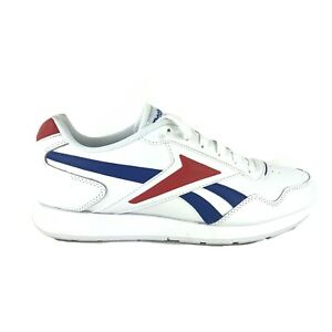 Reebok Classic Sneakers Royal Glide Leather White Men's Shoes Size 10 FW6706