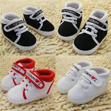 Niño recién nacido Zapatos Bebé Infante Niños Niño Niña Suela Suave Lona Tenis Hot S01