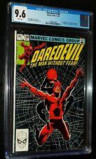 DAREDEVIL #188 1982 Marvel Comics CGC 9.6 NM+ WHITE PAGES