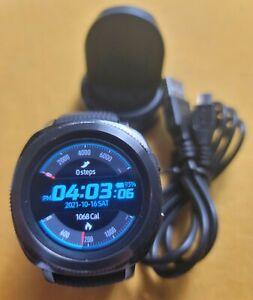 Samsung Gear Sport (SM-R600) 46.6mm black stainless,  black watch band