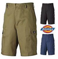 Mens Dickies Redhawk Professional Heavy Duty Combat Cargo Workwear Shorts