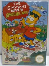 THE SIMPSONS - BART VS. THE SPACE MUTANTS - NINTENDO NES VERSION PAL B BOXED