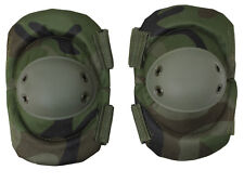 military tactical elbow pads woodland camo one pair rothco 11057