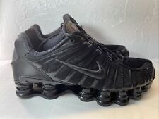 "Nike Shox TL ""Triple Black"" Men's Size 9 (AV3595-002)"