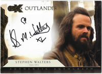 Cryptozoic Outlander CZX Auto Autograph Card Stephen Walters Angus 46/100