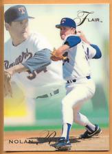 1993 Fleer Flair Nolan Ryan Card #286 Texas Rangers